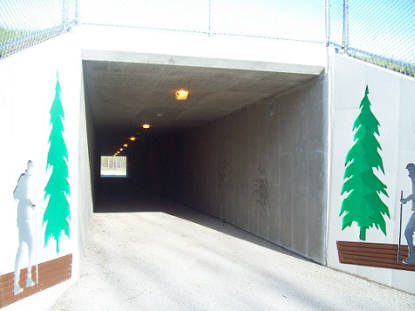 Copper Culture Trail - Van Hecke Underpass